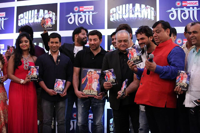 Dinesh Lal Yadav Film Ghulami Publicity on India's Top News Channel