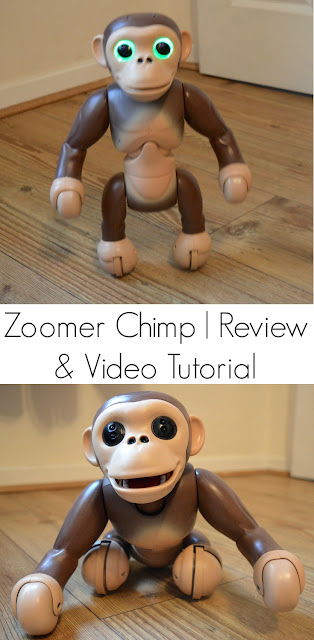 Zoomer Chimp - A 'Must Have' Toy for Christmas 2016 | A Review, How to guide and Tutorial.