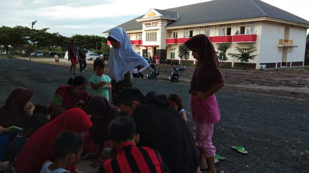Kembalikan Senyum Korban Tsunami Selat Sunda