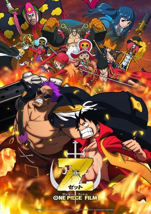 One Piece Film Z (2012)  Castellano   Película 12   Mega 