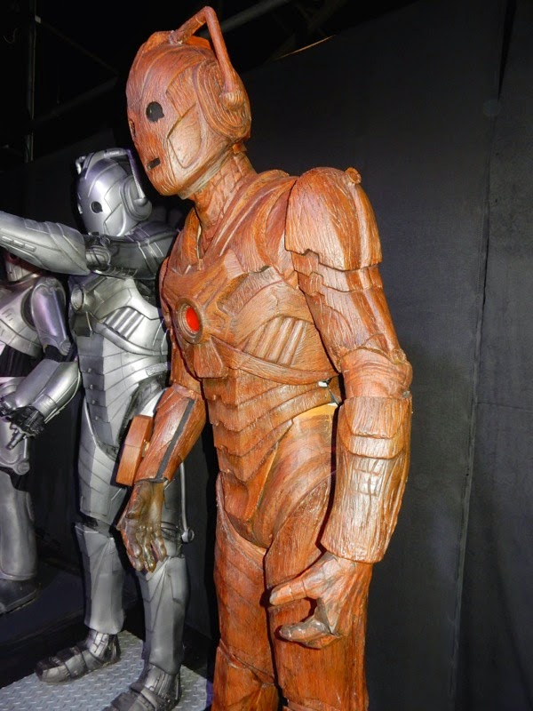 Doctor Who Wooden Cyberman