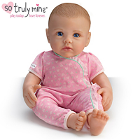 baby dolls, holiday gifts, lifelike dolls, Ashton Drake