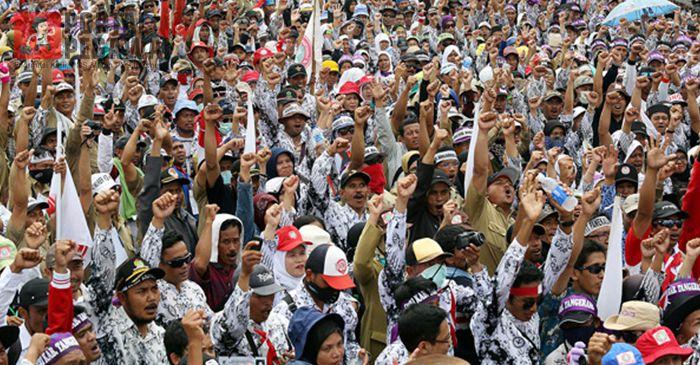 Ratusan Ribu Honorer K2 Tolak Tes Ulang untuk Jadi PNS