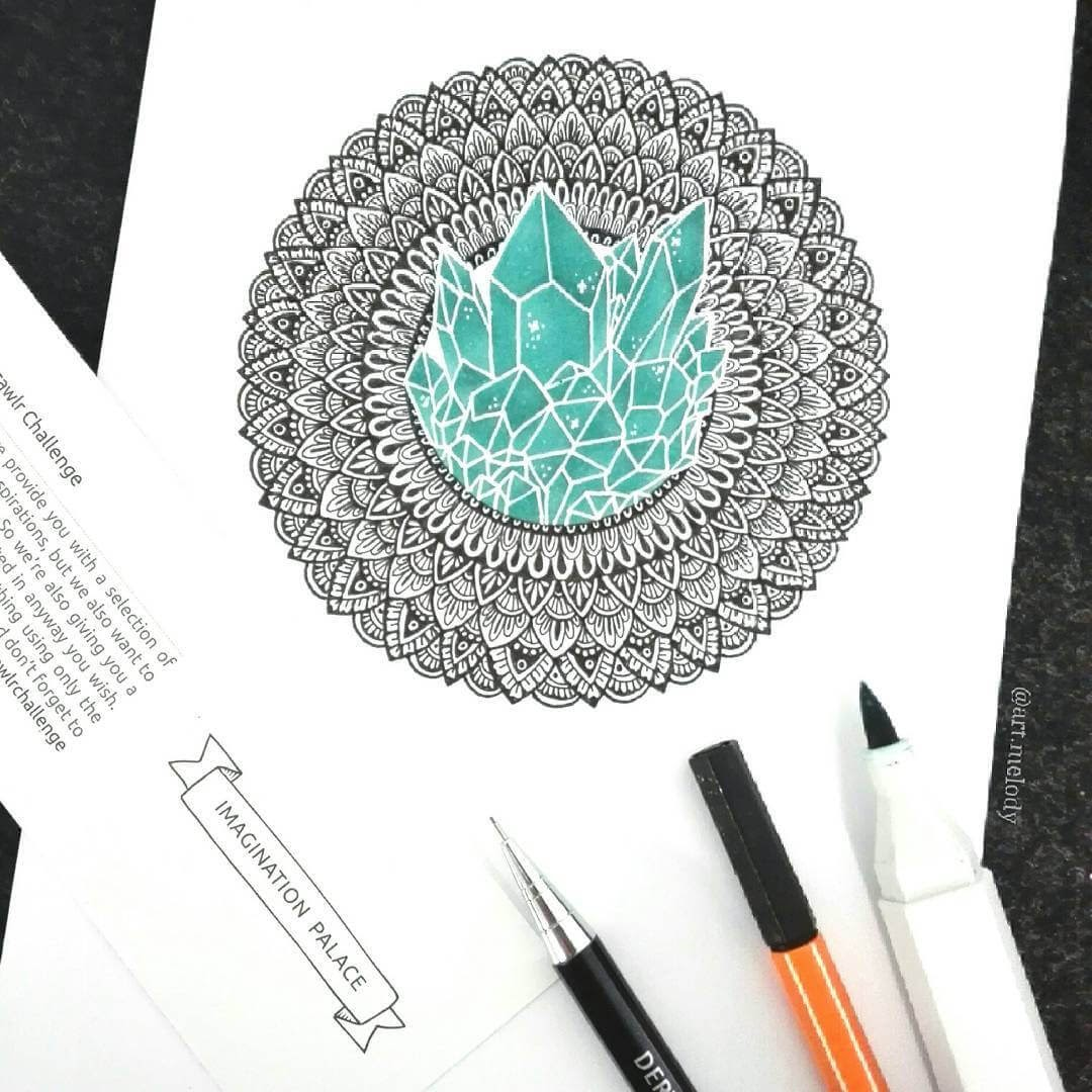 10-Ice-Mandala-Gyöngyi-Szabó-Bright-and-Colorful-Mandala-Drawings-www-designstack-co