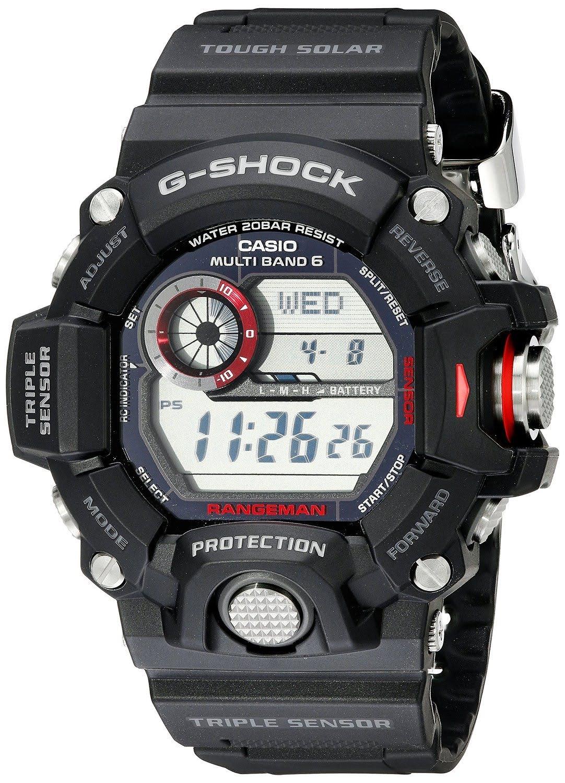 Home Garden More Casio G Shock Rangeman Master Of Solar Gshock Gw 9400 1cr Watch Black