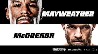 Mayweather vs McGregor - Horarios y Cartelera