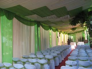 pelaminan pengantin murah - tenda ok rek