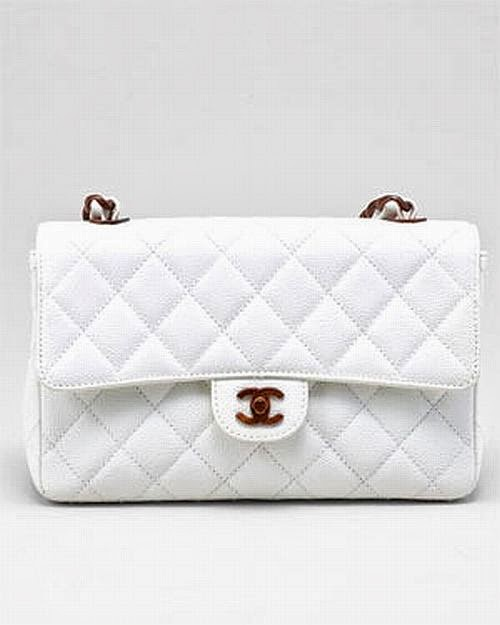classic Chanel white 2.55 bag