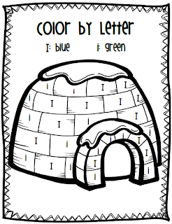 Mrs. Black's Bees: FREE~ Color by Letter