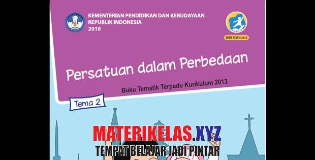 Materi Tematik Kelas 6 Tema 2 K13 Revisi 2018