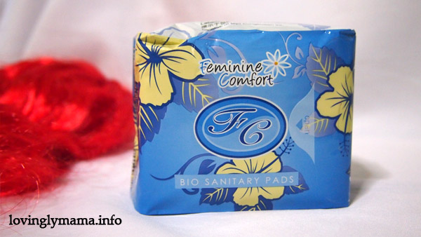 FC Feminine Comfort Bio-Sanitary Pads - herbal sanitary pads - organic sanitary pads -feminine pads