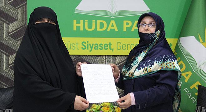 HÜDA PARın Diyarbakır'dan ilk kadın milletvekili aday adayı belli oldu