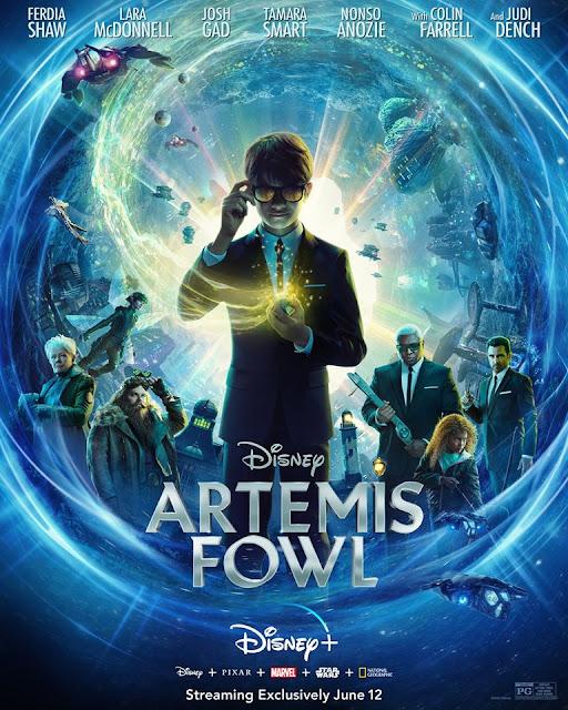 《阿特米斯奇幻歷險》(Artemis Fowl)將於2020年6月12日在「Disney+」首播