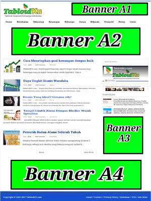 pasang Banner - Tabloidku