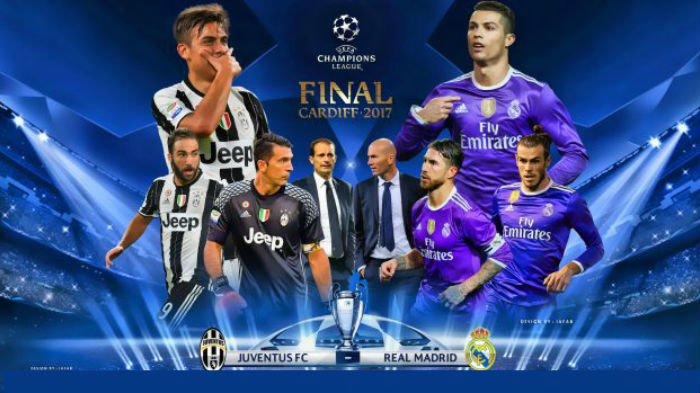 Its The Final Match Of The Season And The Best Really Has Been Saved Until Last As Real Madrid Go Head To Head With Juventus In The Final Of The Uefa