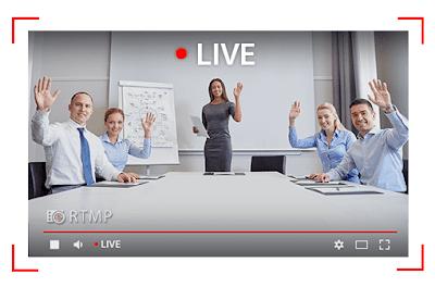 Live Streaming trong giải pháp hội nghị truyền hình