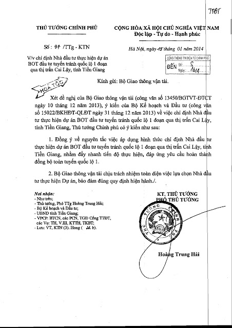 BOT Cai Lậy, 'Hoạ sỹ' Hoàng Trung Hải và bức tranh giao thông VN