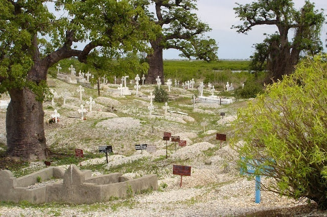 Christian Graveyard at Fadiouth