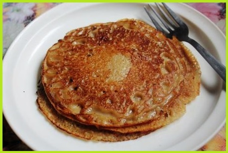 Singhade Aata Cheela Recipe (Vrat)