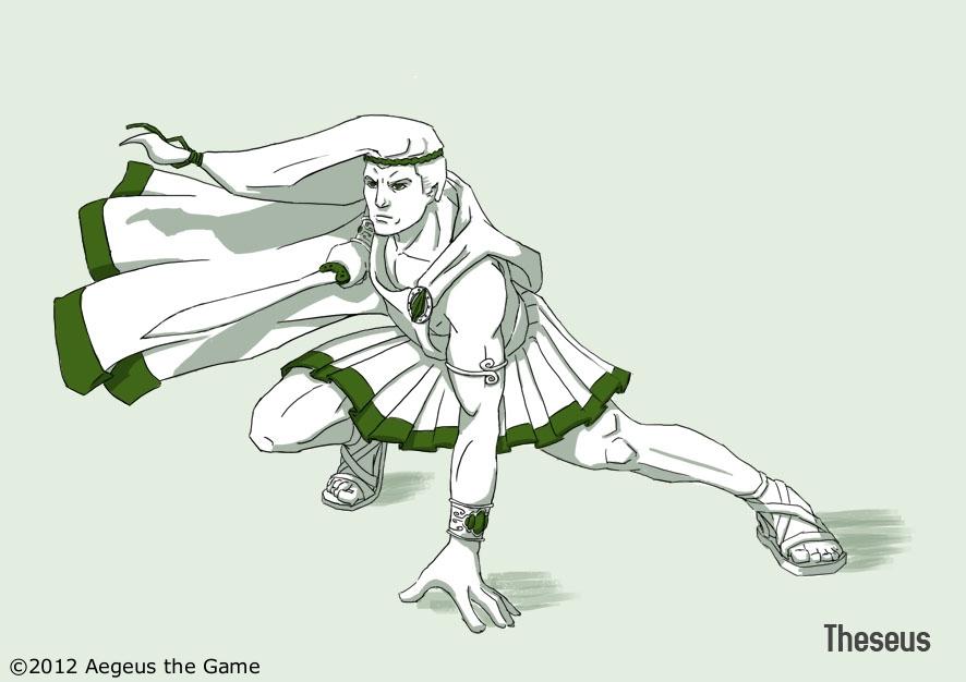 Aegeus Age Of Mythical Battles Theseus Prince Of Athens