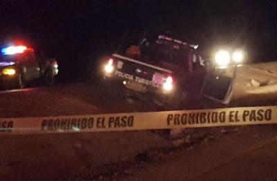 Reportan a oficial muerto tras balacera en zona turística