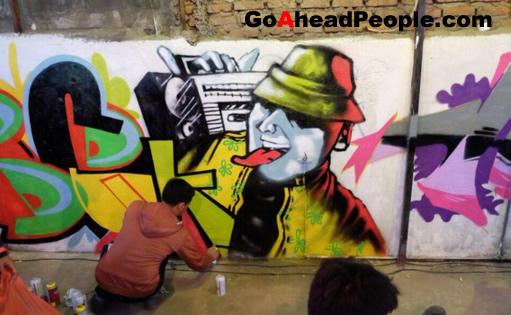 Cara Belajar Membuat Graffiti Di Tembok