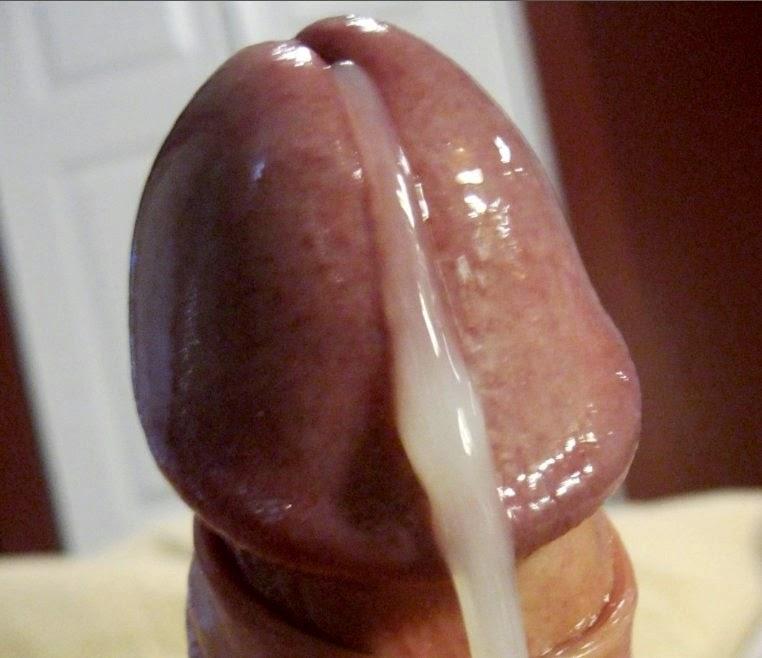 ... Sexy uncut cock masturbated and cumming creamy sperm not me 10