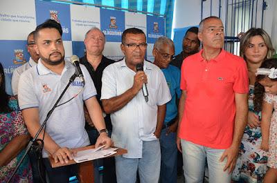 Alagoinhas: Prefeitura reinaugura unidade de Saúde da Família do Jardim Petrolar completamente revitalizada e anuncia conjunto de obras que deve beneficiar a comunidade