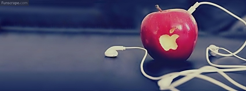 Vegetable Apple funny Facebook cover