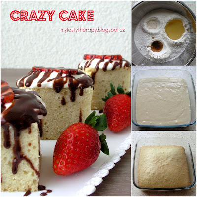 crazy cake - how to