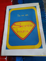 carte fete des peres super facile rapide superman cadeau creation