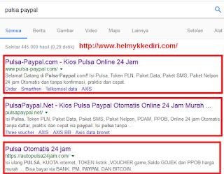 Cara membeli pulsa online lewat paypal1