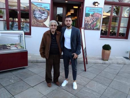Ο Μιγκέλ Άνχελ Γκερέρο Μαρτίν για γεύμα στο Ναύπλιο