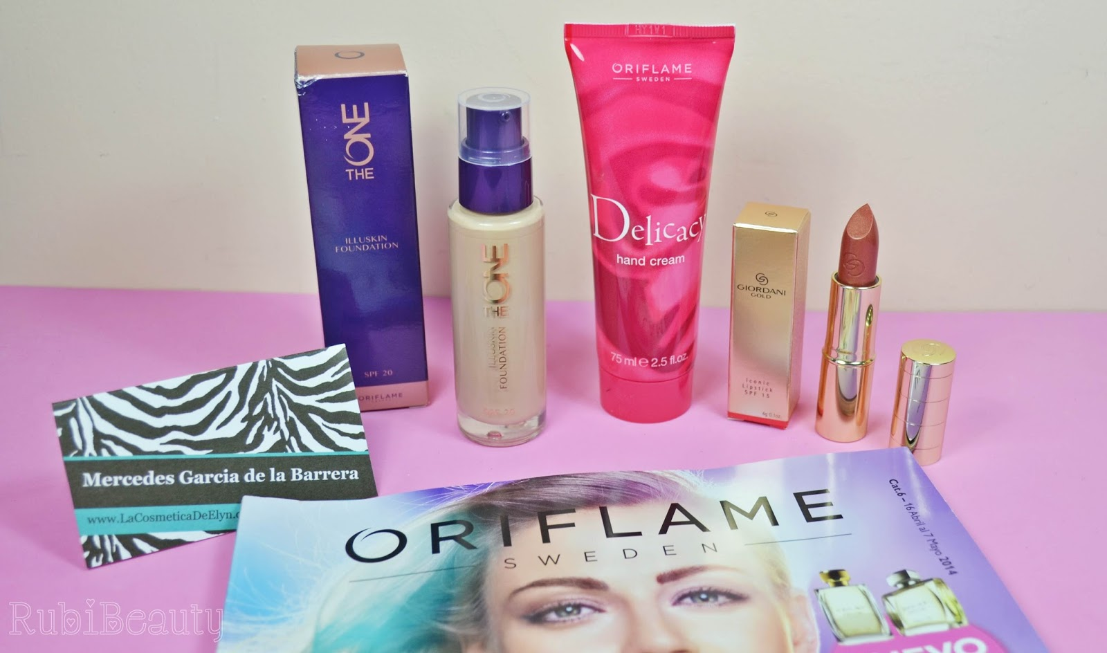 rubibeauty cosmetica elyn oriflame review look
