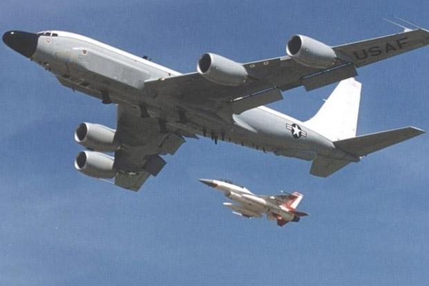 AS Ketir-ketir, Pesawatnya Sering Dicegat Jet Rusia dan China