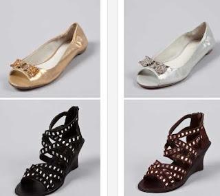 bailarinas y sandalias