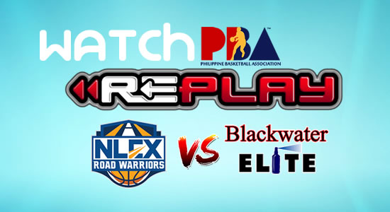 Video List: NLEX vs Blackwater game replay February 18, 2018 PBA Philippine Cup