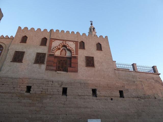 Moschea di Abu el Haggag nel tempio di luxor