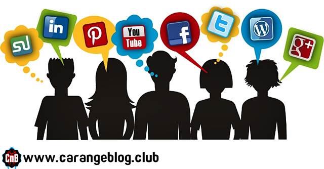 Setiap orang Menggunakan Berbagai Media Sosial, Dampak Media Sosial dalam Kegiatan Blogging