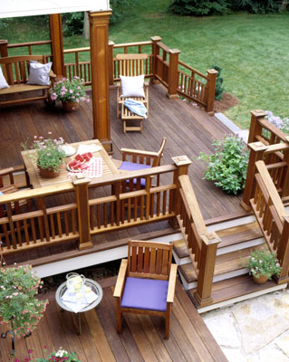 Patio design with wood deck idea, patio design, patio design ideas, small patio design, covered patio design, deck design, deck design ideas, deck plans, deck design online, backyad design ideas, backyard ideas, backyard plans, small backyard design ideas, backyard design, backyard ideas