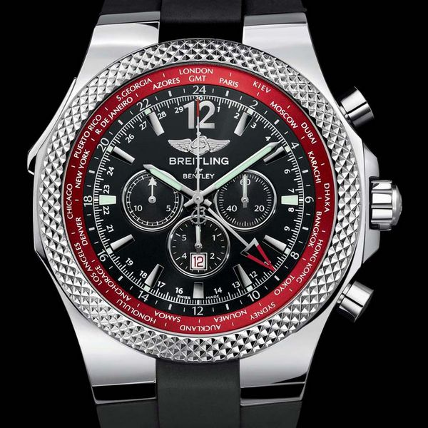 Breitling For Bentley Gmt V8