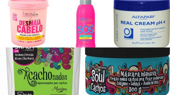 produtos de cabelo com colageno low poo