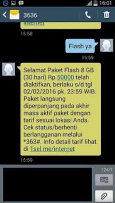 Sebarkan.....Khusus Pengguna Internet, Cara Mudah Untuk Mendapatkan Paket Internet Super Murah, 8 GB Hanya Rp 50, Ini Caranya