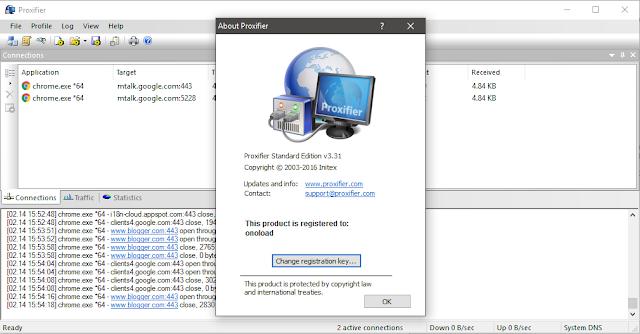 bagi para pengguna ssh maupun pengguna internet gratis pasti familiar sekali sama Proxifi Unduh Proxifier Version 3.31 Full Version Terbaru