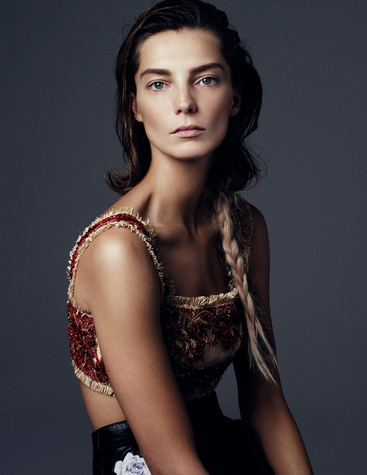 Daria Werbowy Shines On Fashion Canada S October 2013: Daria Werbowy By Steven Pan For Vogue Ukraine March 2013