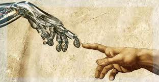 Het contact tussen God en Adam