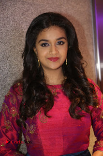 Actress Keerthi Suresh Stills at Remo Success Meet  0002.JPG