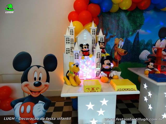 Tema infantil Mickey - Decoração de festa de aniversário