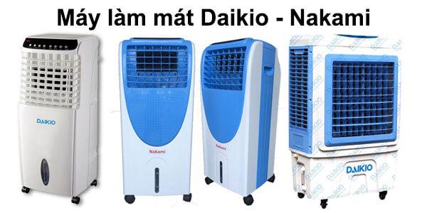 Thương hiệu máy làm mát Nakami - Daikio