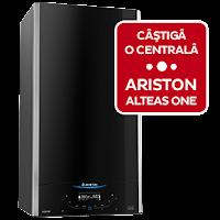 Castiga 1 centrala inteligenta Ariston Alteas One cu accesoriile de conectare incluse